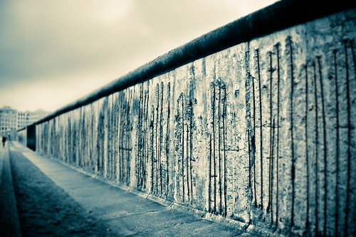 MAUERFALL - Berlin Wall - 25 YEARS AGO TODAY -- THIS WALL CAME DOWN.