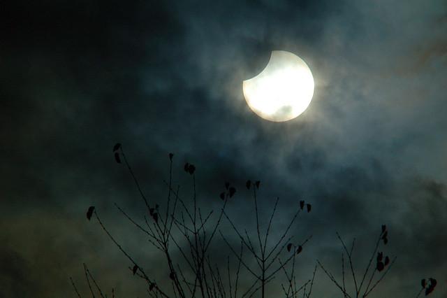 Partial Solar Eclipse, October 23, 2014