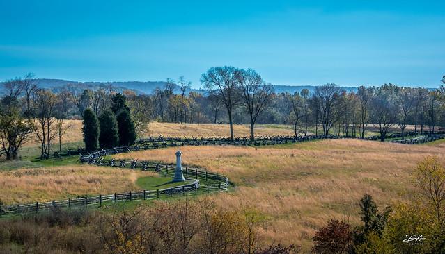 Antietam Battlefield in Fall