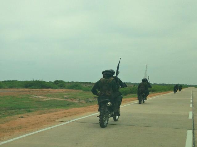 Thalaimannar-Jaffna highway, Sri Lanka
