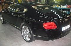 Lavado Bentley Continental GT. Modelo 2014