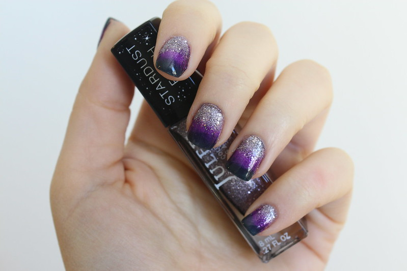 Purple Gradient Glitter Nails | Julep Manicure | A Look Back at 10 Years of Blogging Living After Midnite Blogger Jackie Giardina