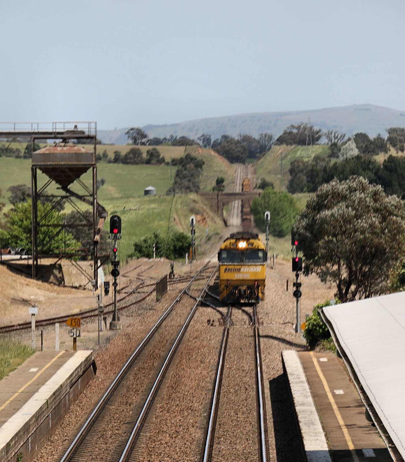 Pacific National Freight triple through Yass Junction by Jungle Jack