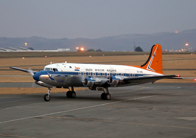 ZS-AUB Douglas DC-4 South African Airways Historic Flight