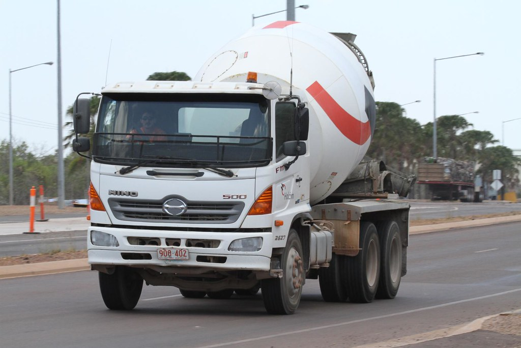 Hino 500 Cement Truck, Berrimah Road, Darwin, Northern Ter