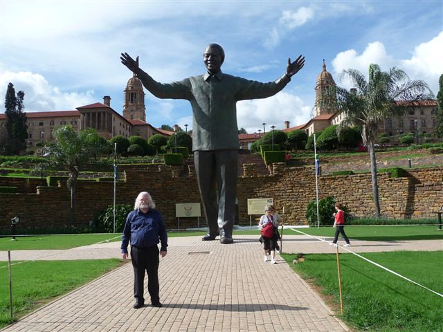 Mandela statue, Union Buildings, Pretoria