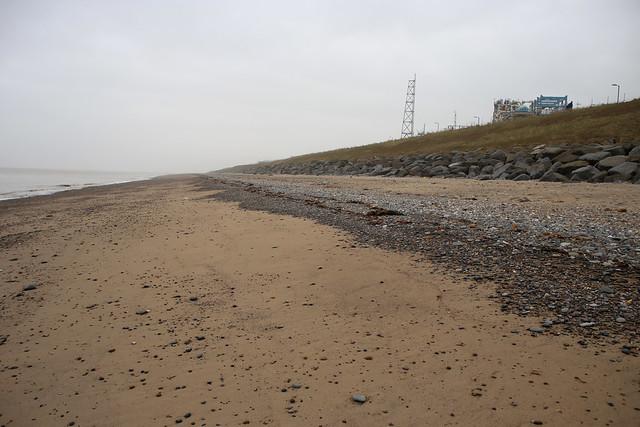 The coast at Easington