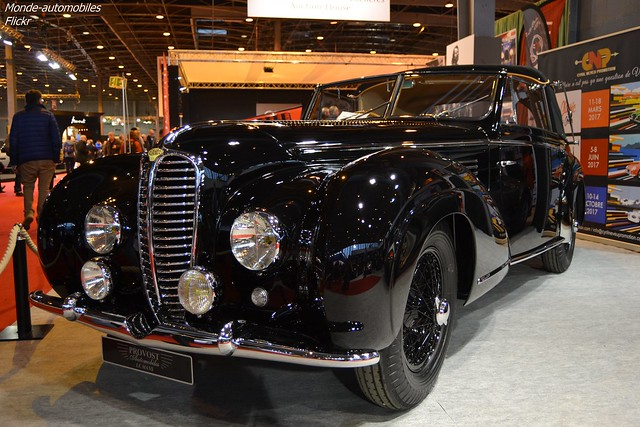 Delahaye 135M Chapron Cabriolet Mylord 1949
