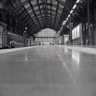The long empty Platform | by ucn
