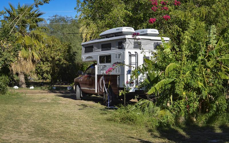 Mulege camping spot