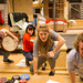 Martin Murphy, Claire Knight, Emily Byrt & Ben Winger_BFG Rehearsals 2014