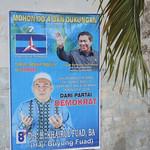 Campaign sign - Tanjung Balai