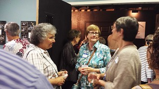 LWV board members Diane Suhler, Carol Schreiber and Mahree Skala