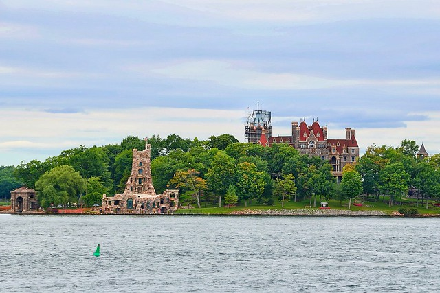Boldt Castle  ~ Historical Building ~1000 Islands  ~  Alexandria Bay Ny