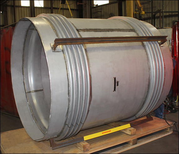 "60"" Dia. Universal Expansion Joint Designed for a Chemical Company"