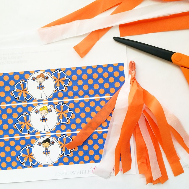 photo relating to Printable Tissue Paper referred to as Producing tissue paper Pom Poms toward accessory my fresh Blue Orang