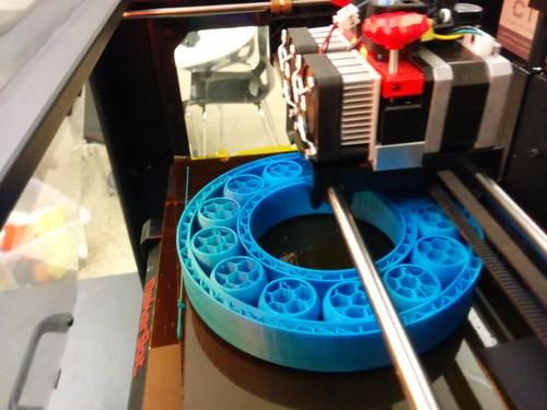 3D-printed ball bearing | by Creative Tools