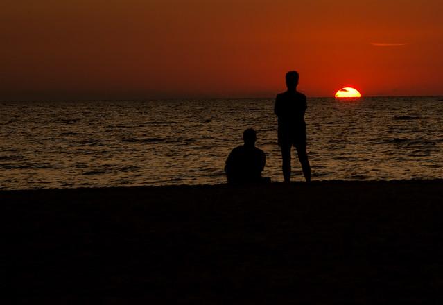 Sunset at Anna Marie Island