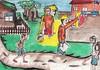 Ngan ha uru-urhi nakita ko an akon mga kasangkayan nagmamadali pagkadto ha eskewlahan. Han amon pag-abot, nakita namon an iba-iba nga tawo nga nag-aayad han amon eskwelahan ug nanhihibalik an amon mga barangay ug ilabi nah an paghibalik han dignidad han amon igkasi molupyo.  And later on, I saw my friends hurrying towards the school. When we got there, we saw people rebuilding our schools, restoring our communities and more so returning the dignity of our villagers.  Photo credit: Plan International