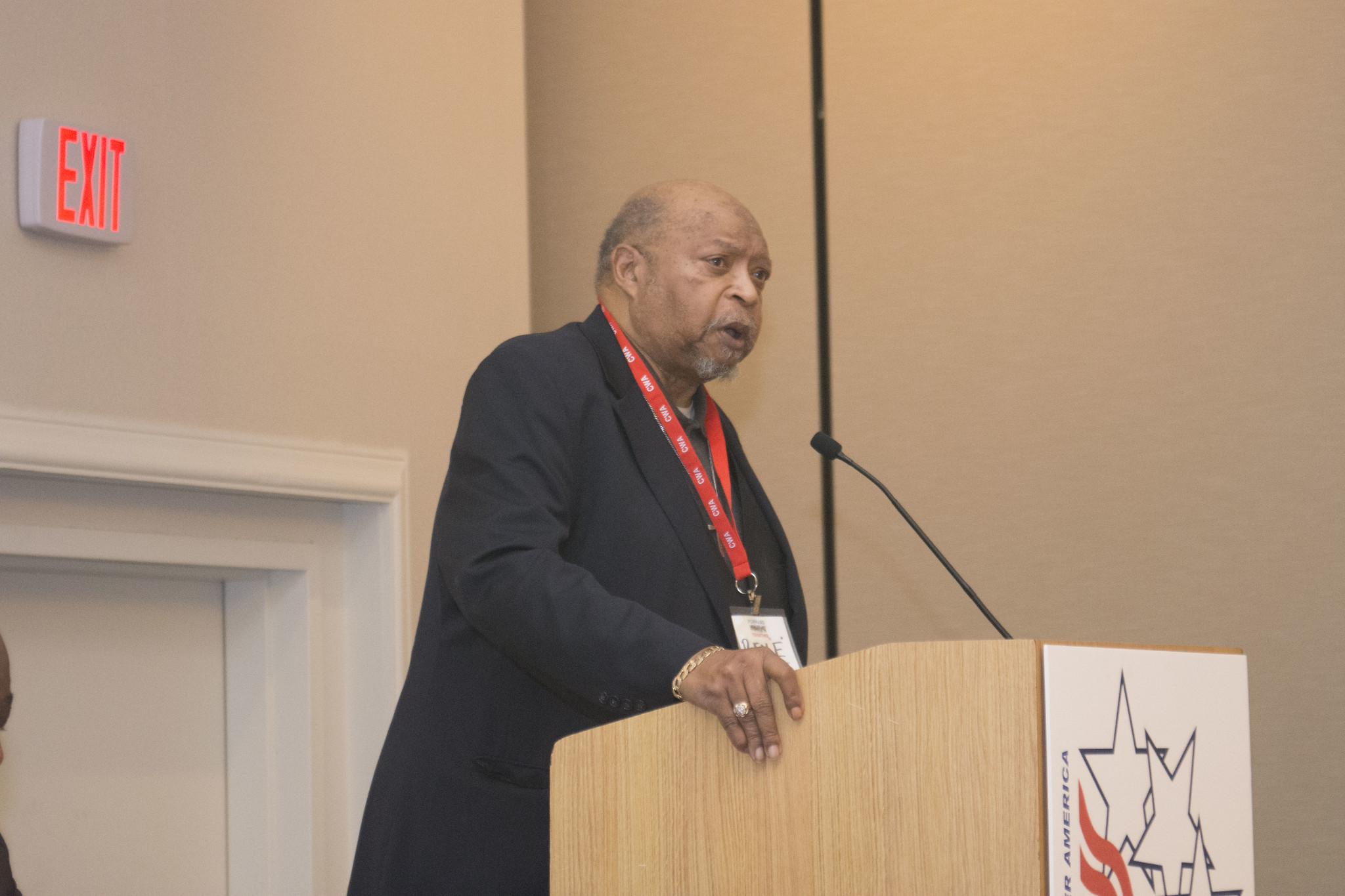 Rev. E. at the 2017 Public, Healthcare, and Education Workers Conference