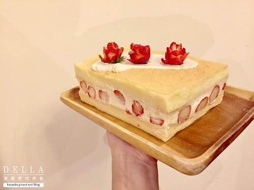 草莓鮮奶油海綿蛋糕 (15) | by DellaKuo