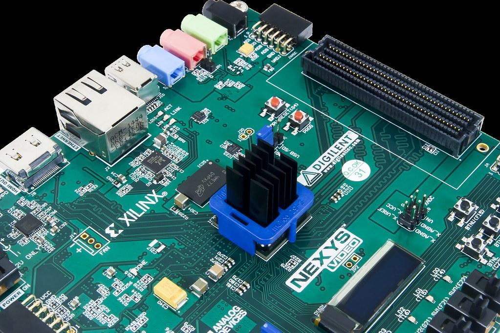 Nexys Video Artix-7 FPGA: Trainer Board for Multimedia App