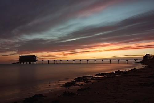 isleofwight iow bembridge bembridgelifeboatstation beach sea sunrise sony a65 alpha clouds december 2016 boxingday