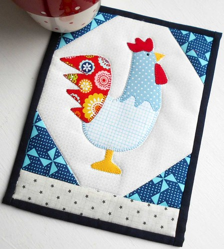 2017 - Year of the Rooster Mug Rug