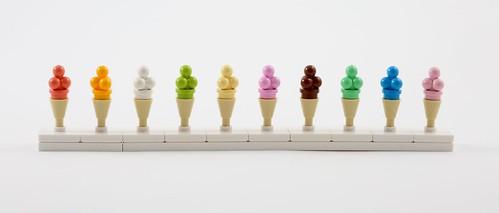 LEGO Ice Cream Flavours