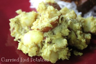 Curried Red Potatoes | by NY Foodie Family