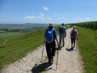 First section (anticlockwise) Lewes Circular walk