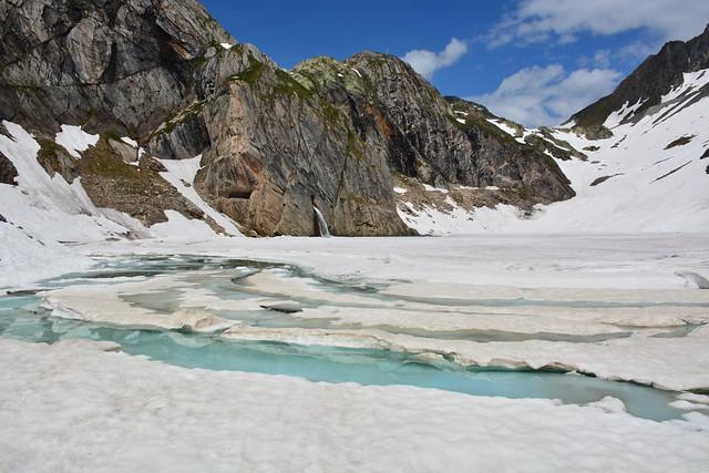 Robiei - Lago Bianco 2077m - Lago Nero 2037m - Lago Sfundau 2392m