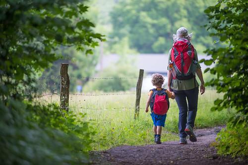 Bergwandelen Ardennen voor gezinnen met kinderen van 2-7 jaar, Workshop