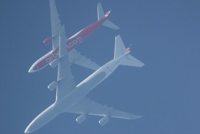 Overhead overtake
