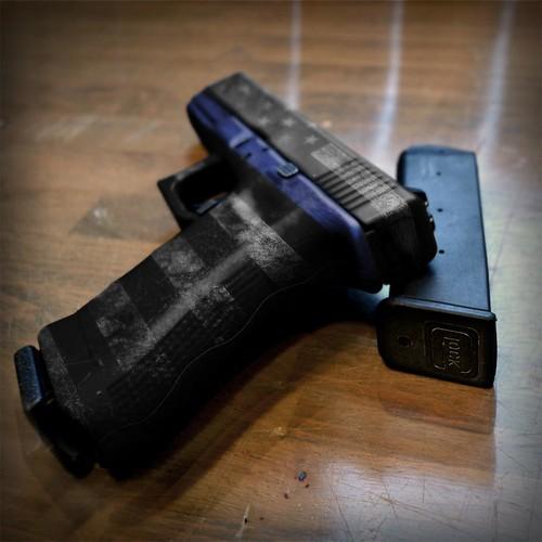 Pistol Skin Thin Blue Line