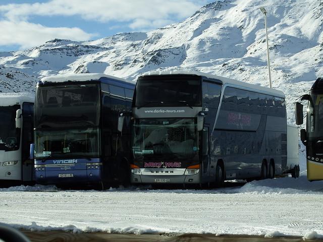 Setra S431DT Darko Tours (HR) Val Thorens (73 Savoie) 11-01-17a