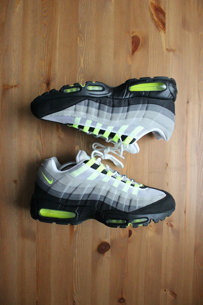 Air Max 95 Og Neon Black Grey 2009 609048 072 11 5us Flickr