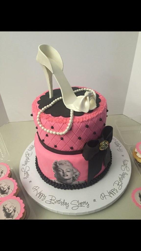 Tremendous Marilyn Monroe Birthday Cake Lady Wpb Flickr Personalised Birthday Cards Paralily Jamesorg