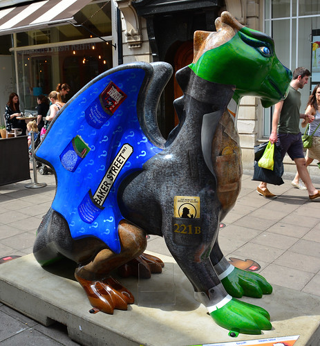 Norwich Dragons , Sherlock By Valerie Osment | by Martin Pettitt