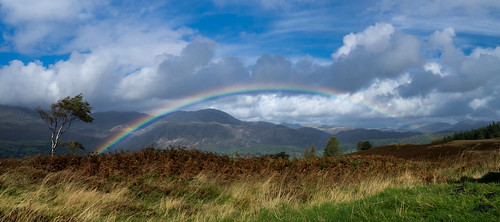 fells geographicalfeatures england flickr lakedistrict coniston moody cumbria bybodianphotography brantwood weather holiday clouds bynickthorne bracken panorama themed photographer tree colour sky flora birch year lake location rainbow shape 2016