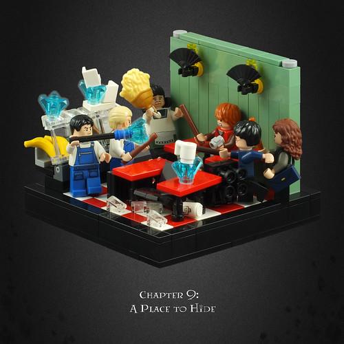 Harry Potter and the Deathly Hallows 05 – Café Shootout
