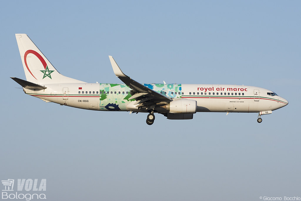 Royal Air Maroc (Wings Of African Art Livery) Boeing 737-8… | Flickr