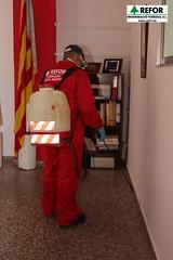 COLABORACIÓN DE REGENERACIO FORESTAL S.L. EN LA DESINSECTACIÓN, DESINFECCIÓN Y DESRATIZACION DE LA ASAMBLEA DE CRUZ ROJA ESPAÑOLA EN L'ALCUDIA - RESPONSABILIDAD SOCIAL CORPORATIVA DE REFOR S.L. F16