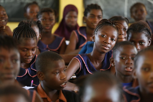 Students at primary school   by World Bank Photo Collection