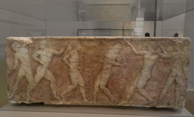 Funerary Base for an Athlete - III