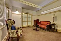 Next: Cobb & Co Court Boutique Hotel - Deluxe Queen Room Lounge