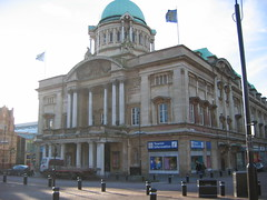 Town Hall, Hull, 23 Jan 2005
