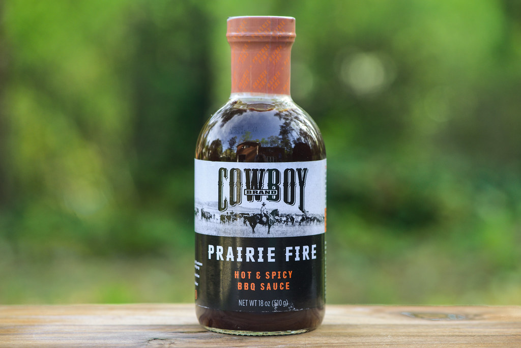 Cowboy Brand Prairie Fire Hot and Spicy Barbecue Sauce