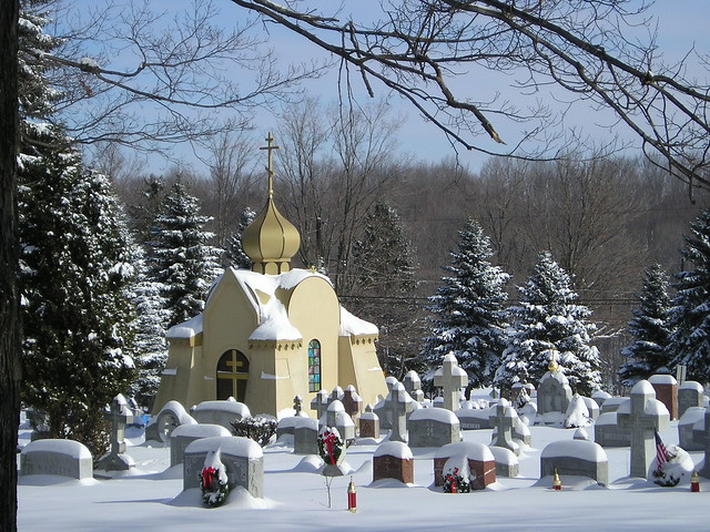 Crypt with Snow