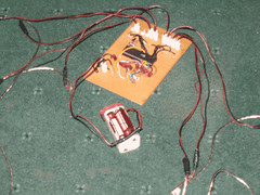 The circuit that controlled the buzzer in the quiz, handcrafted by an IITian